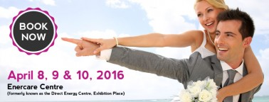 Toronto's Bridal Show on April 8, 9 & 10, 2016 at Enercare Centre
